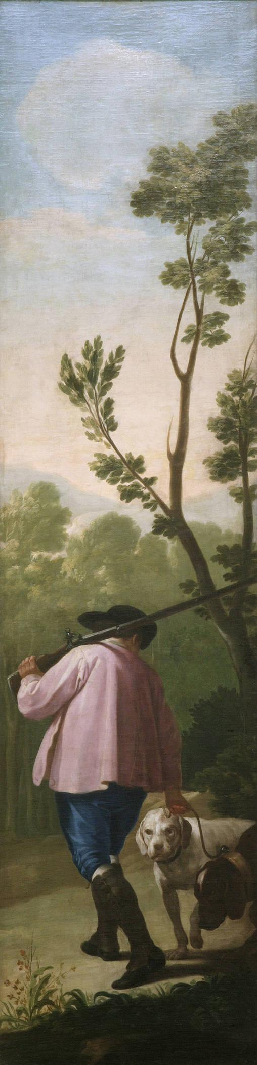 Goya en El Prado: Cazador con sus perros