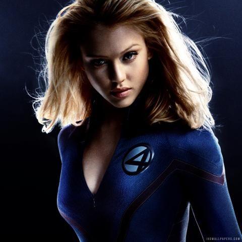 Hot Celebrity Stuff: Jessica Alba as Sue Storm / Invisible