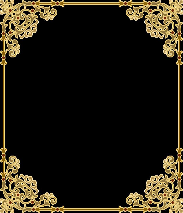 Pin on Printable frames dorados, bronce, plateados