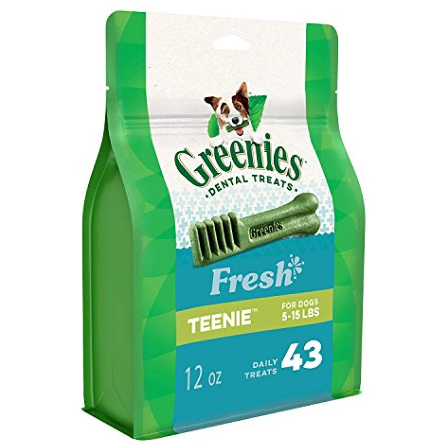 Greenies Fresh Teenie Dental Dog Treats 12 Oz Pack 43 Treats Check Out This Great Product This Dog Dental Treats Dog Dental Chews Greenies Dog Treats