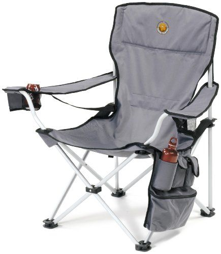 Grand Canyon Vip Folding Camping Chair Aluminium Grey Black 308018 Folding Camping Chairs Camping Chairs Camping Furniture