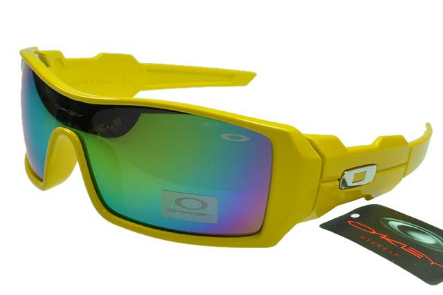 fef2429e51 Oakley Oil Rig Sunglasses Yellow Frame Chromatic Lens | shoes ...