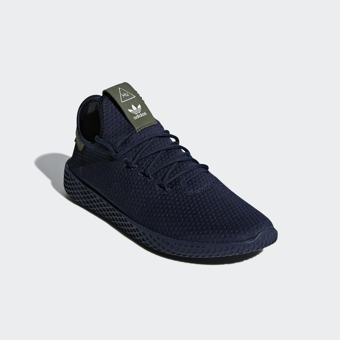 89c732749 Pharrell Williams Tennis Hu Shoes Collegiate Navy 12.5 Mens