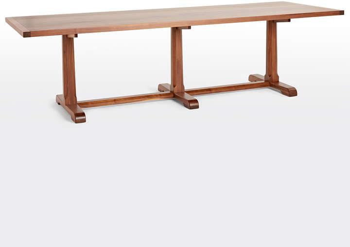 Rejuvenation Ladd Walnut Table