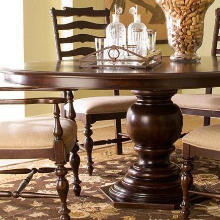 Paula Deen Paula Deen Round Pedestal Table Dining Table Rectangle Dining Table Pedestal Table