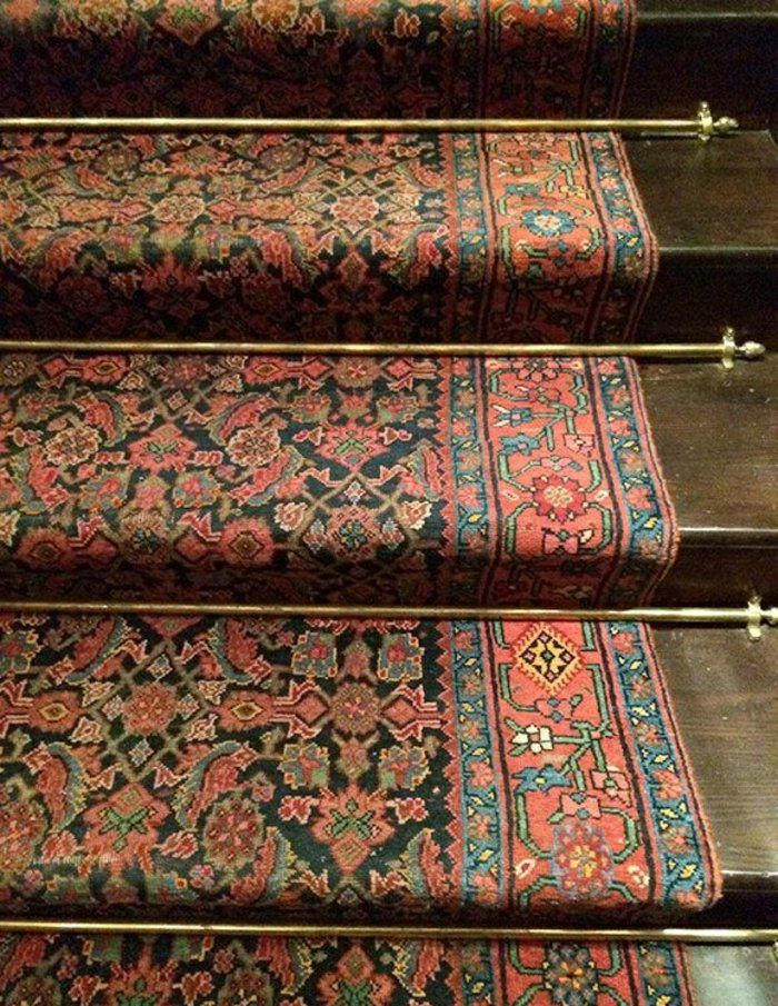 orientteppich perserteppich orientalische teppichen Flur - wohnzimmer ideen orientalisch