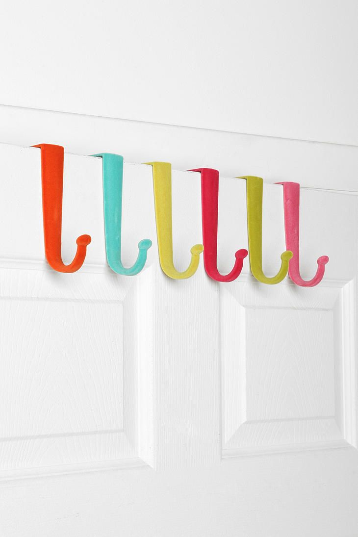 Over The Door Hook   Set Of 6   Urban Outfitters