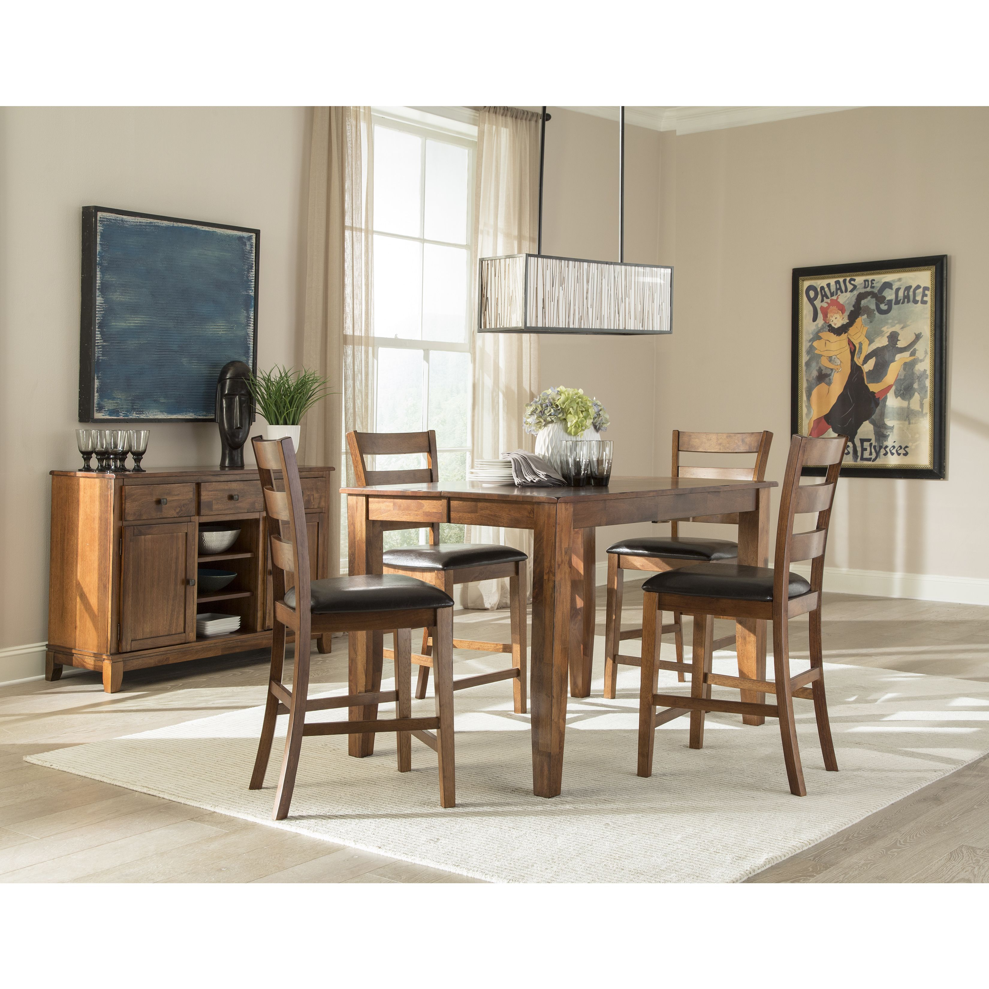Swell Kona Brandy 54X36 54X36 Gathering Table Brown Intercon Gmtry Best Dining Table And Chair Ideas Images Gmtryco