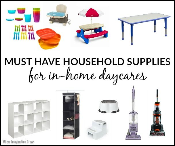 Must Have Supplies for Daycare Providers | Daycare ideas