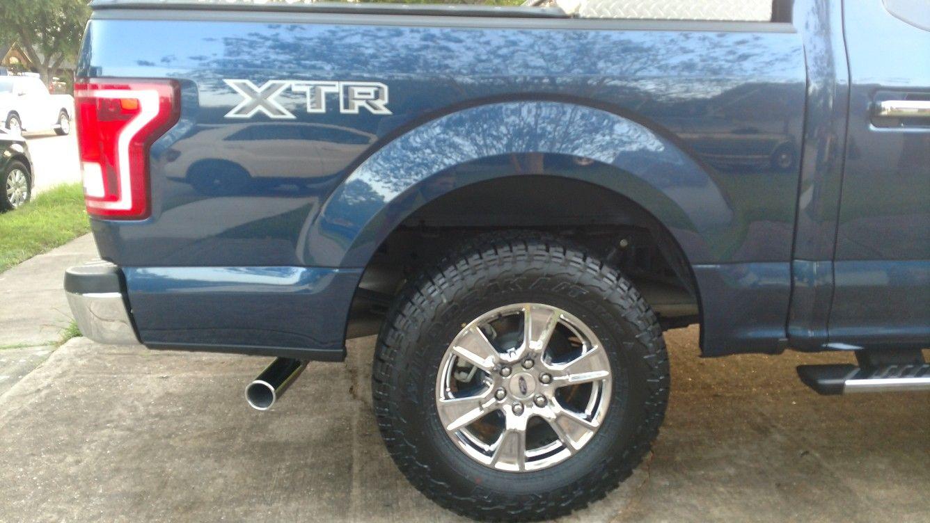 Xtr Decal I Added On My 17 F150 Xlt Ford F150 Xlt Ford F150 F150