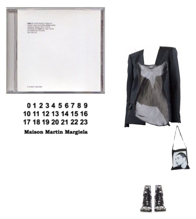 """""""Untitled #382"""" by stonedangel ❤ liked on Polyvore featuring Haider Ackermann, Raf Simons and Maison Margiela"""