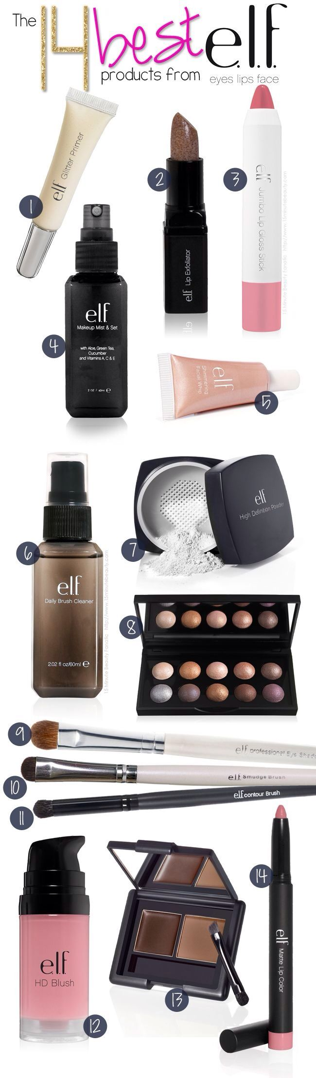 Inexpensive but good quality makeup found at your local