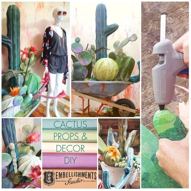 Diy create fun cactus decor using kickboards and fun noodles for diy create fun cactus decor using kickboards and fun noodles for a summer window solutioingenieria Choice Image