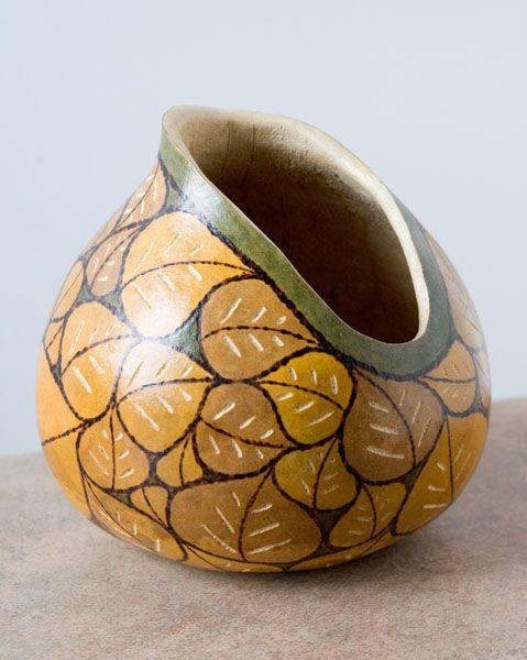 mnartists.org | Kristen Treuting | Dragon Flies - Gourd Art