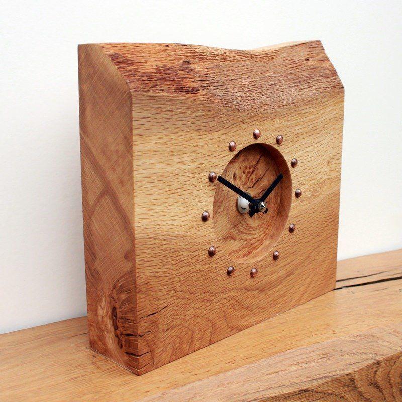 Rustic Bob S Previous Creations Clock Wood Clocks Oak Mantel