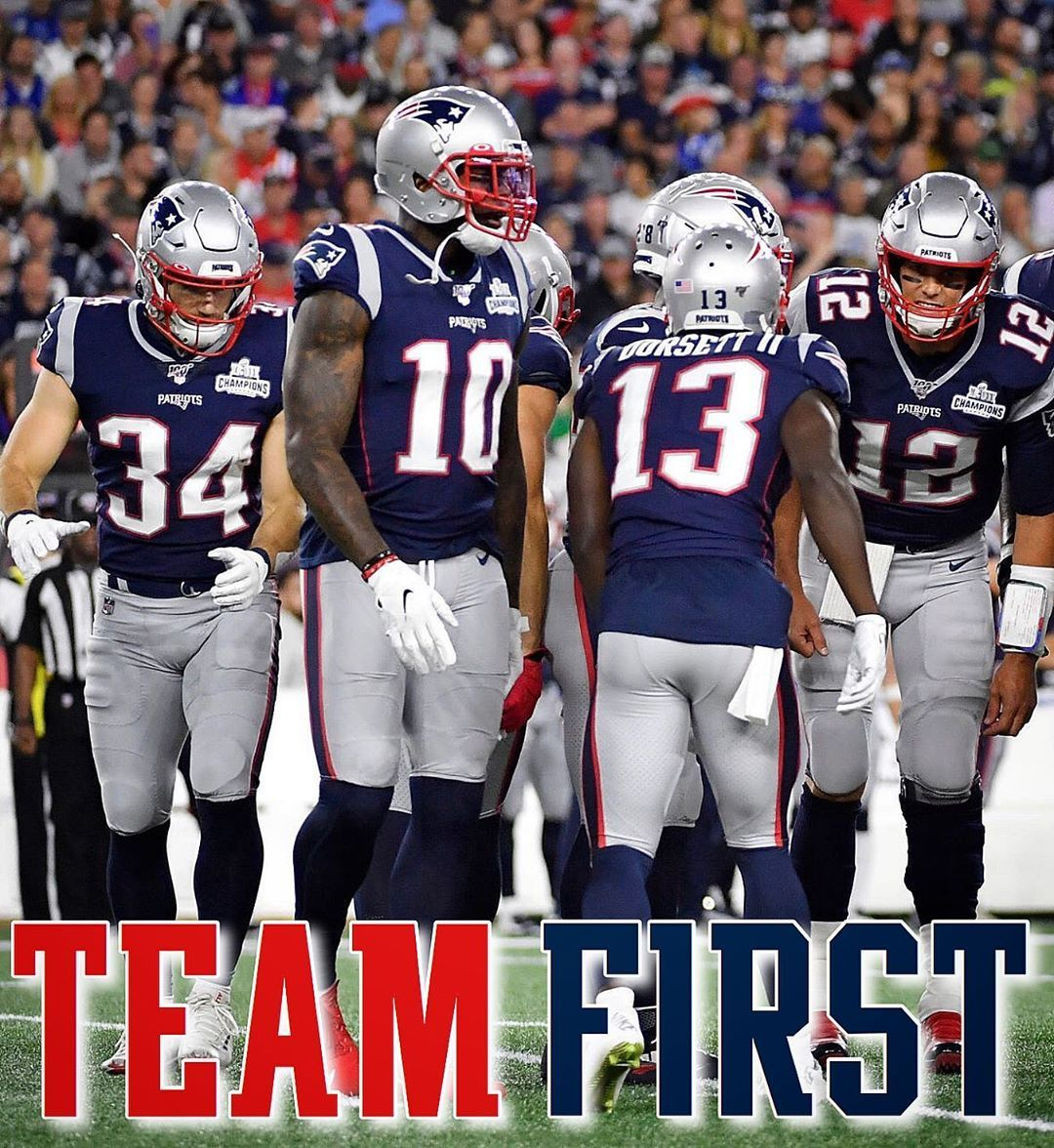 Team First 53 Players Not One Individual Make Up An Nfl Roster The Fate Of Th Patriots Cheerleaders New England Patriots Cheerleaders New England Patriots