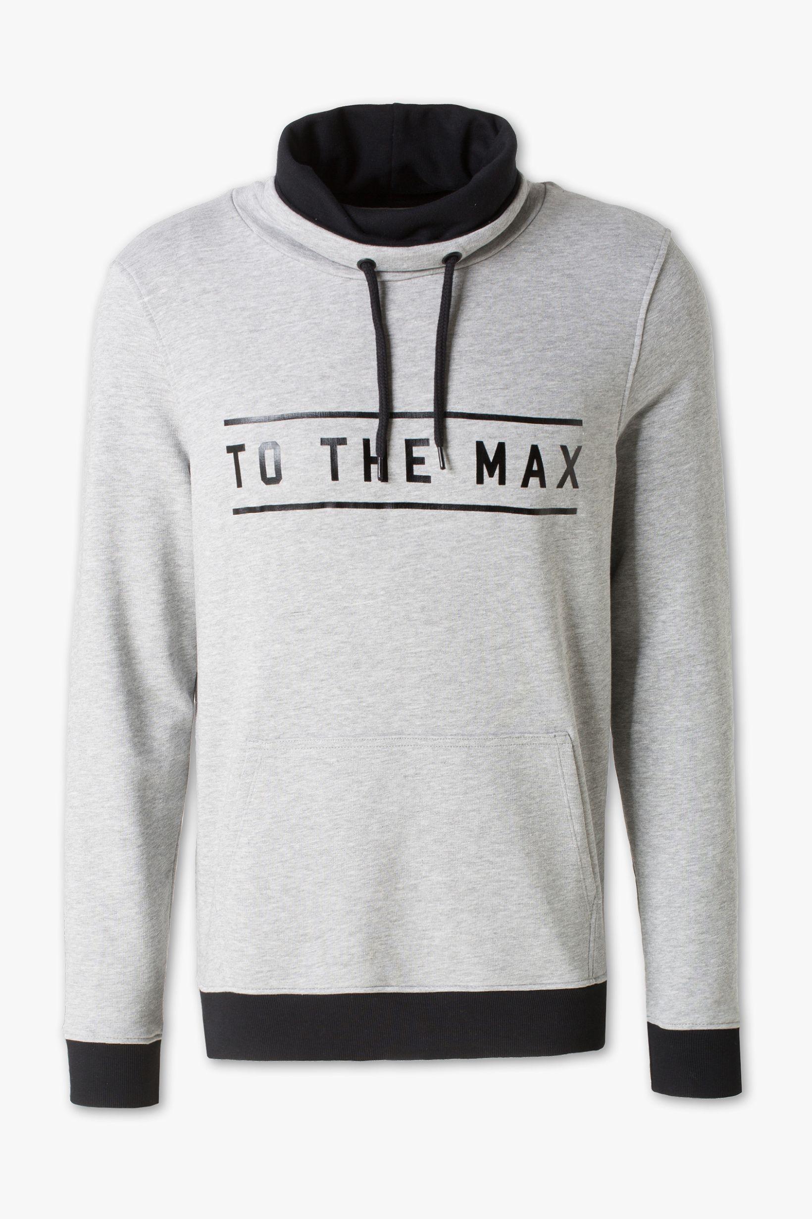 Herren Sweatshirt hellgrau melange   Sweatshirts, Latest