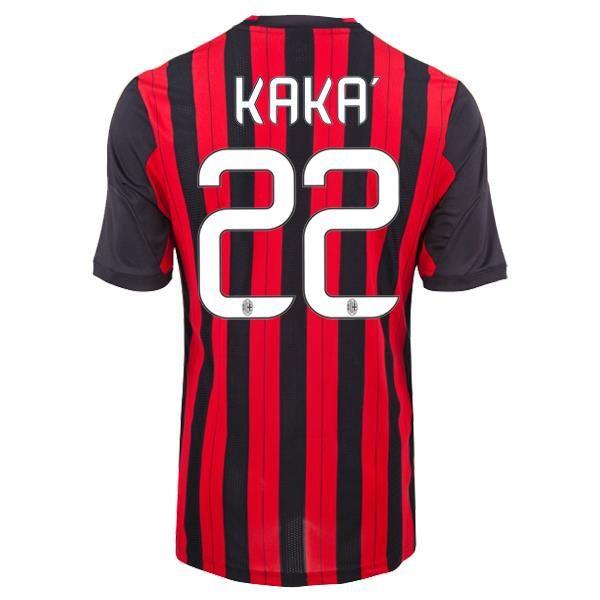 Maillot AC Milan (22 Kaka) Domicile 2013 2014 http://www.korsel.net/maillot-de-foot-ac-milan-22-kaka-domicile-adidas-collection-2013-2014-noire-rouge-pas-cher-p-2548.html