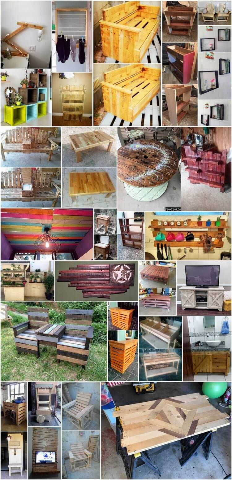 Creative And Unique Ideas To Recycling Old Wooden Pallets Awesome Ideas