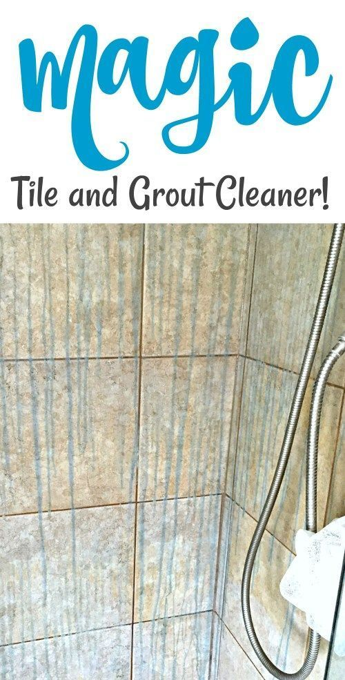 Magic Tile And Grout Cleaner Grout Cleaner Cleaning