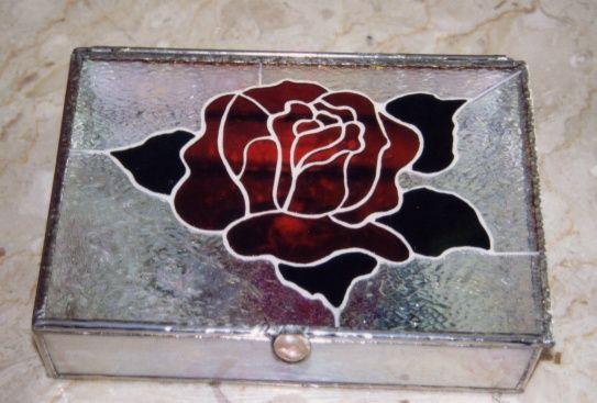 Jewelry Box Stained Glass Mosaic tiffanyine Pinterest