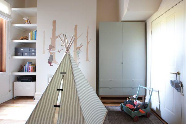 Eleonoras double duty bedroom via Babyology