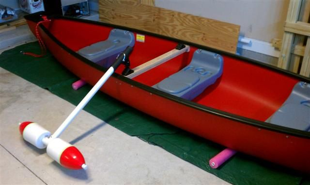 Outriggers For Canoe Fishing