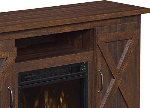 Amazon Com Comfort Smart Killian Electric Fireplace Tv Stand