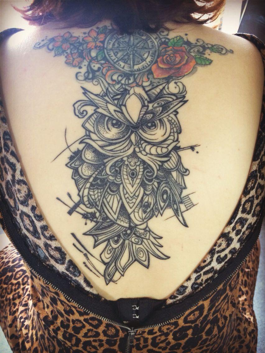 Owl tattoo tattoos concept pinterest tattoo