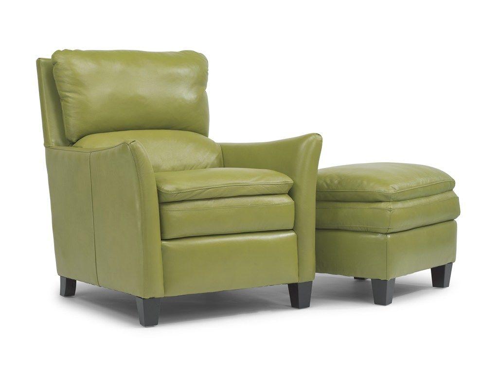 Flexsteel Latitudes Tango Chair And Ottoman Flexsteel