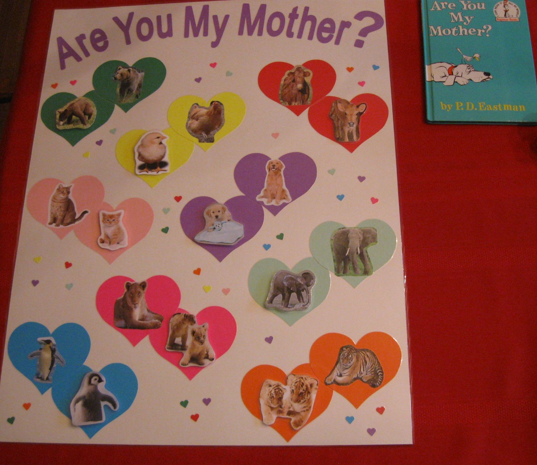 Are You My Mother Animal Matching Game The Baby Animals