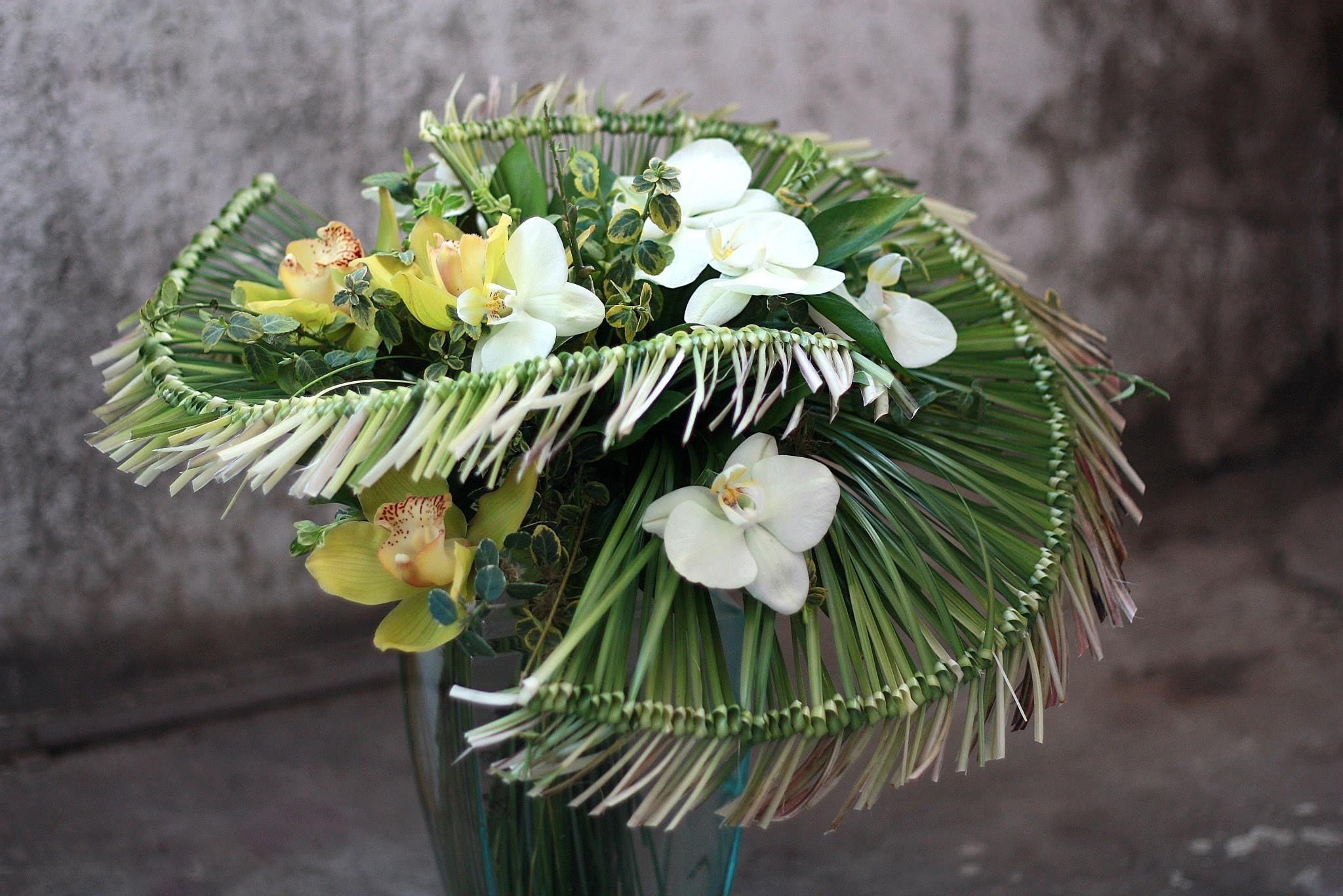 Artist Andrew Gromakov Gorgeous Grass Collar Technique Florystyka
