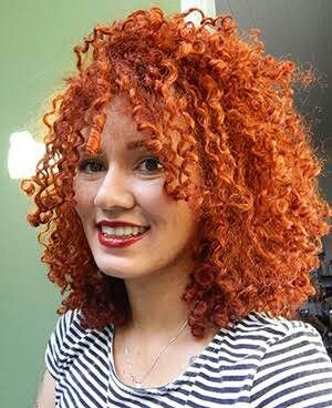 Curly ginger