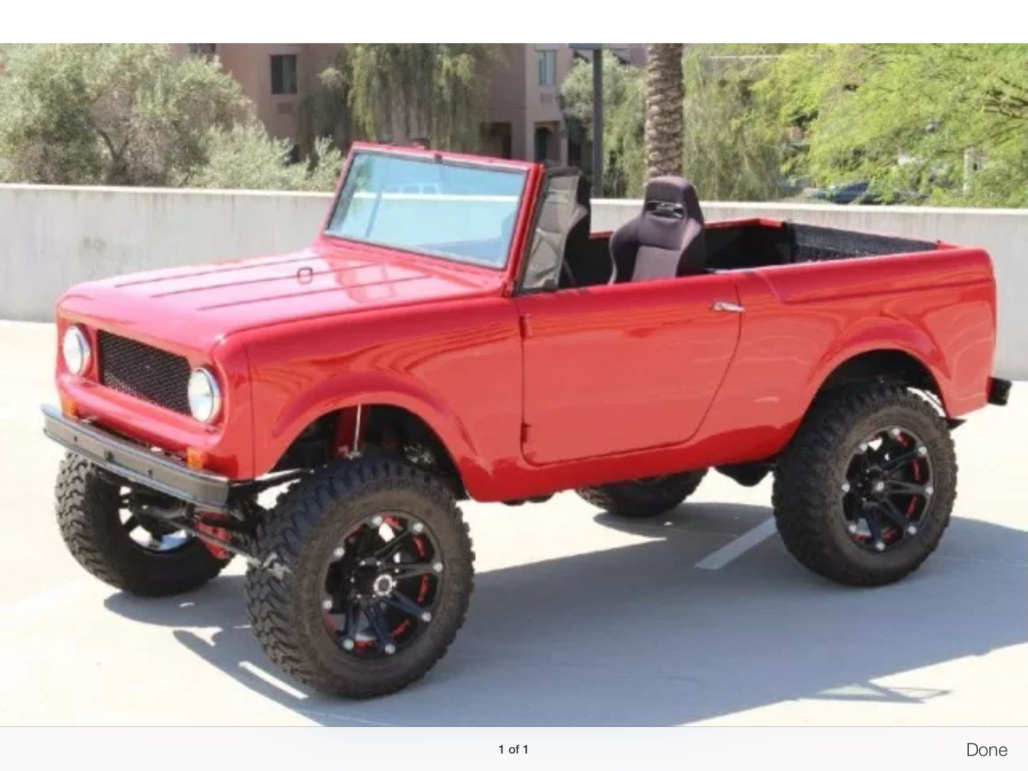Rockin Red International scout, International scout ii