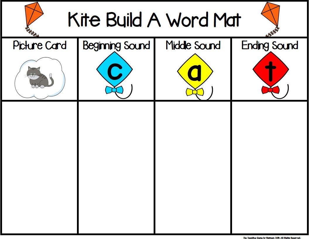Kites Build A Short Vowel Cvc Word