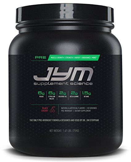 Jym Supplement Science Pre Jym Pre Workout With Bcaa S Creatine Hci Citrulline Malate Beta Alan Preworkout Pre Workout Supplement Post Workout Supplements