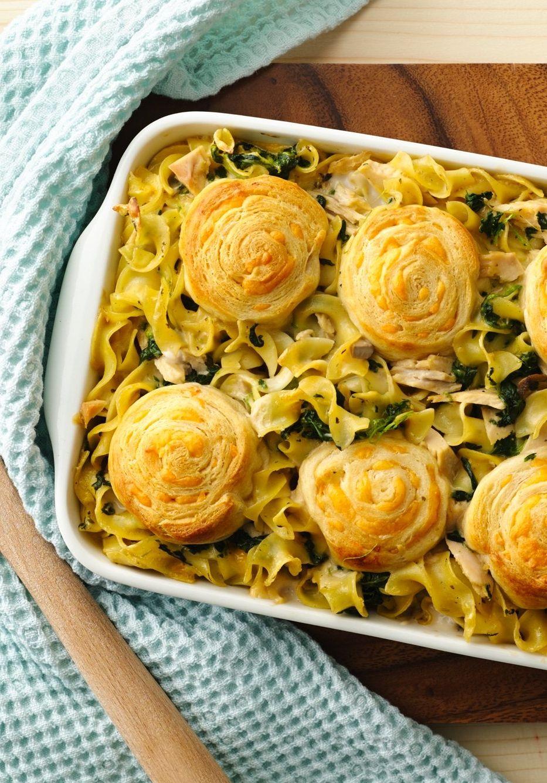 Creamy Spinach Tuna Casserole Recipe Recipes Creamy Spinach Tuna Casserole