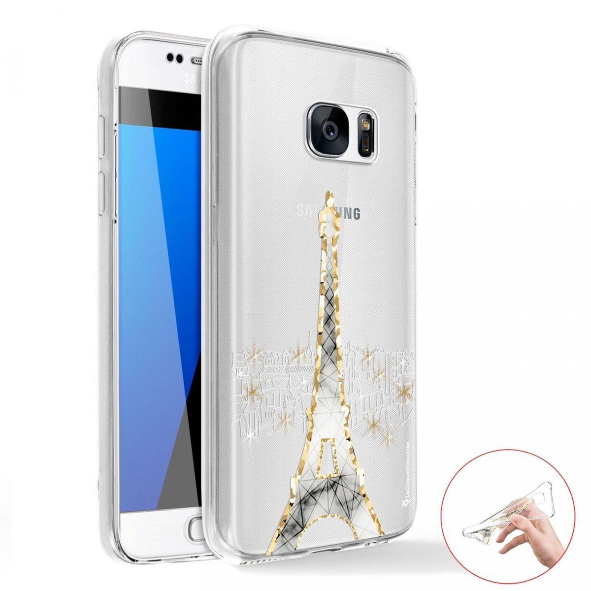Coque Samsung Galaxy S7 360 intégrale avant arrière transparente ...