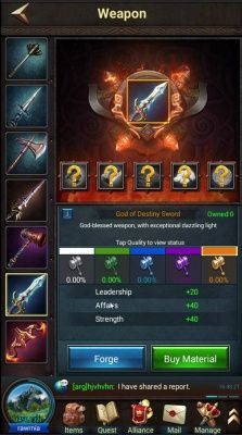 king of war is a android free to play strategy city builder mmo