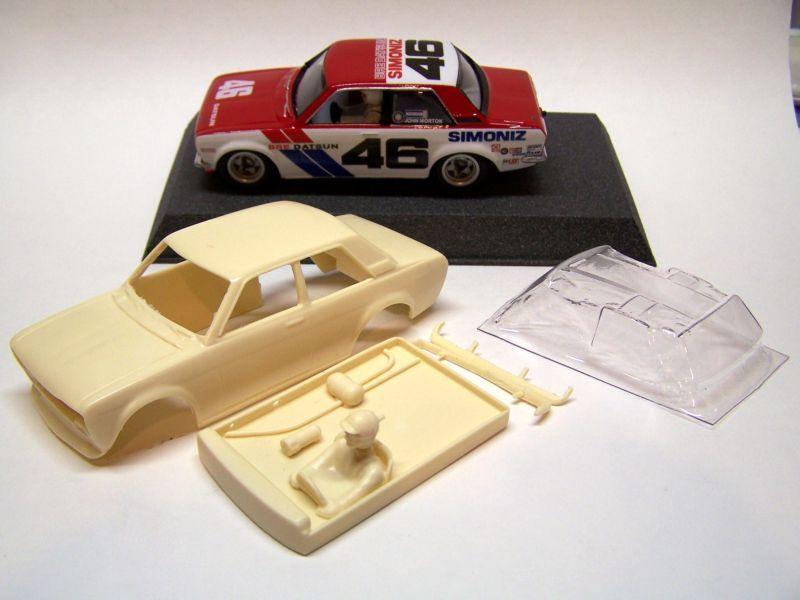 1:32 1971 Datsun 510 Resin Slot Car Kit | Slot Cars | Slot