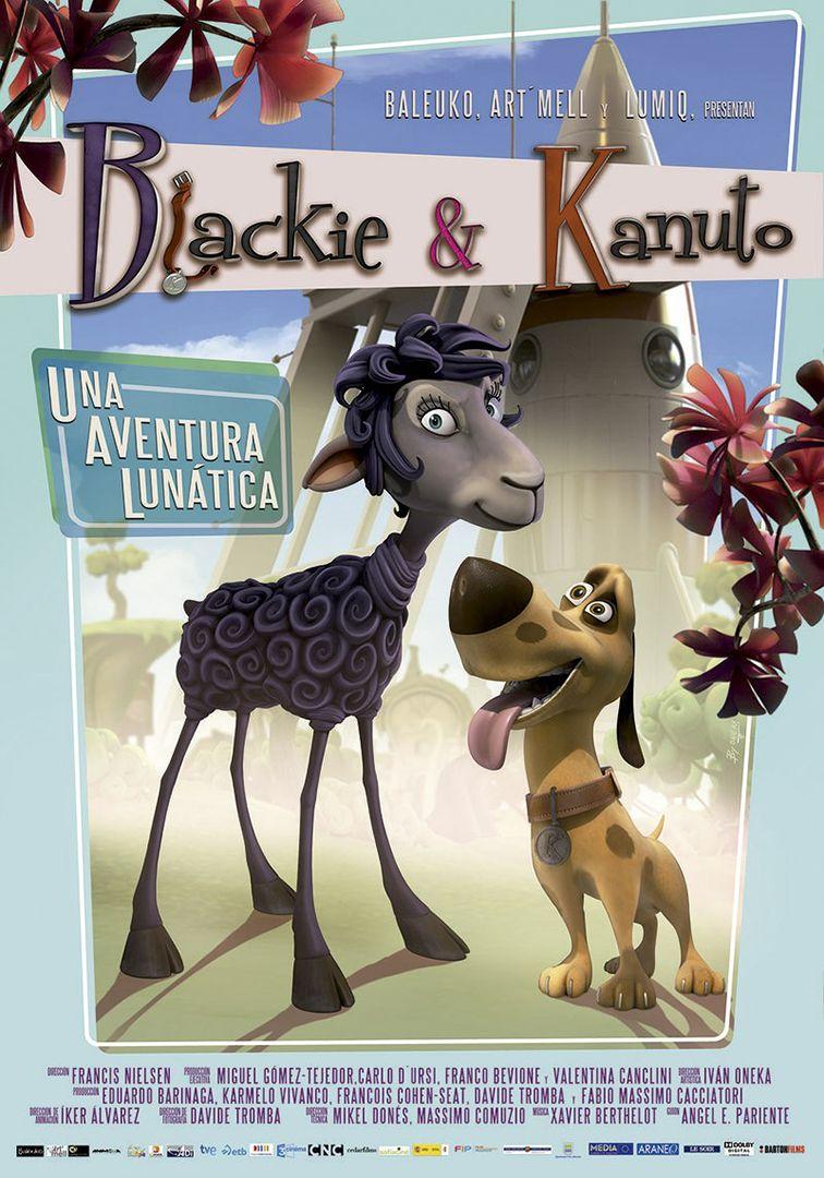 Blackie & Canuto (Spagna 2013) - poster Spagna