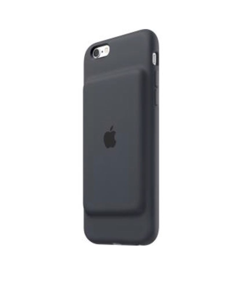 official photos b0a84 afb09 Apple iPhone 6 / 6s Smart Battery Case - Charcoal Gray - used | eBay ...