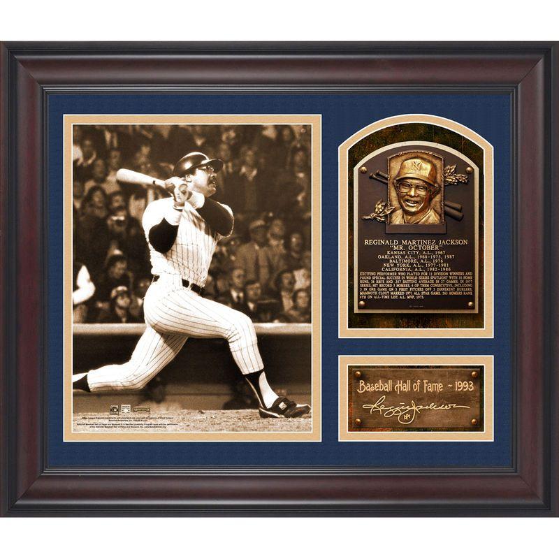 Reggie Jackson New York Yankees Fanatics Authentic Framed