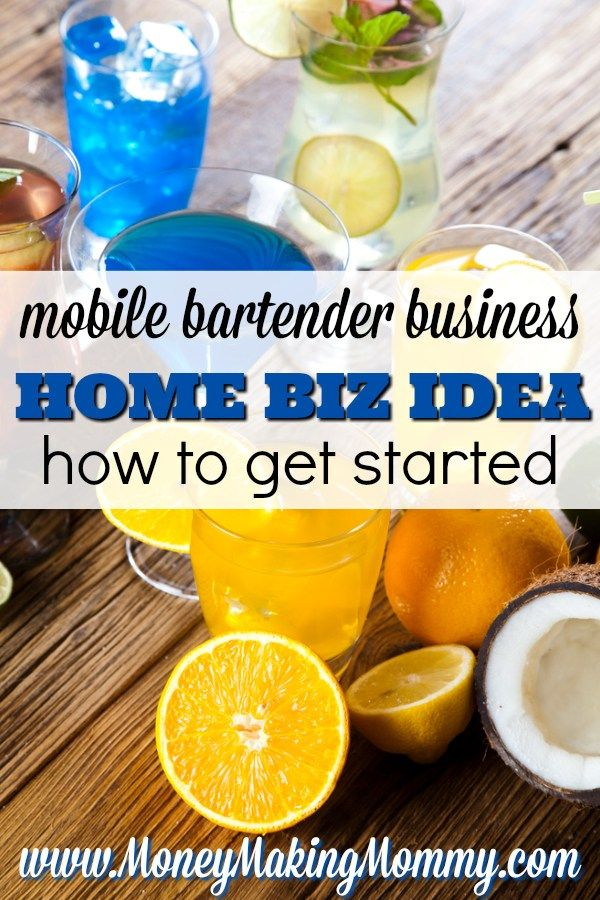 Mobile Bartender Business Plan  Setting Up Your Mobile Bar