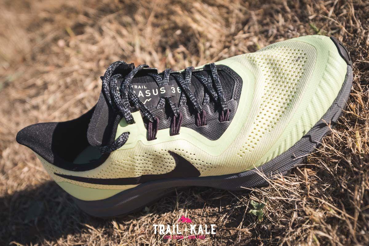 hambruna Kakadu Demostrar  Nike Pegasus 36 Trail Review product shots Trail Kale wm 9 | Mens trail  running shoes, Best trail running shoes, Running shoes for men