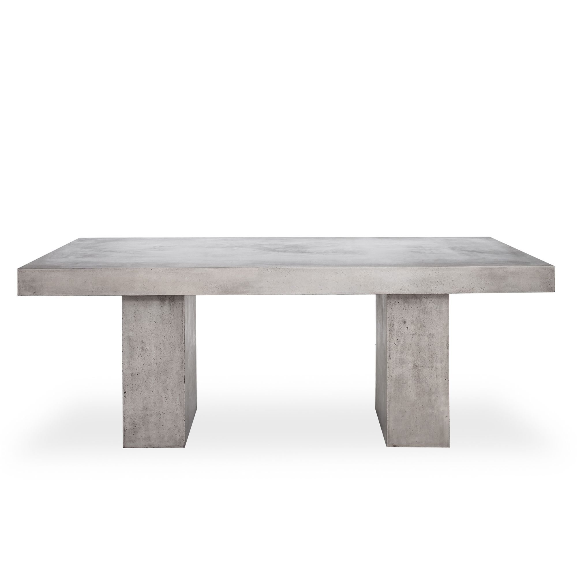 Shop Parsons Concrete Top X2f Dark Steel Base Dining Tables