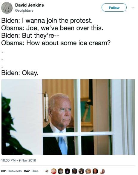 8c9edb93dace863ef7ad84a08ede1144 barack obama just wished joe biden a happy birthday using a meme