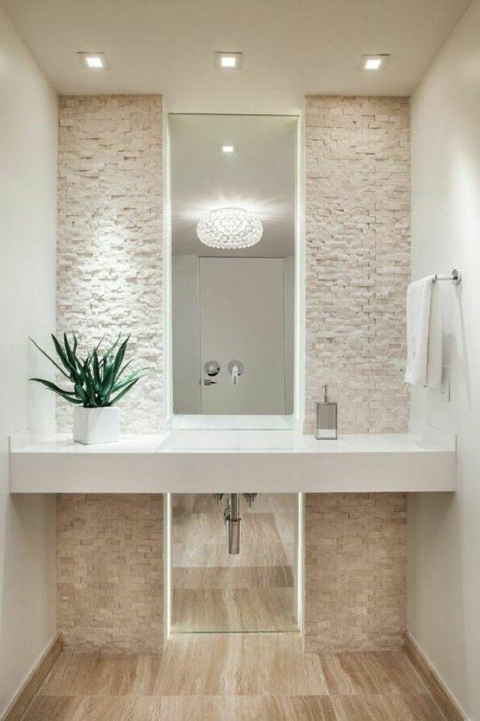 badezimmer deko moderne bader badezimmer in weis und bege aloe - dekoideen badezimmer farbe braun und wei