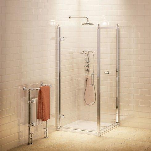 Badezimmer Burlington Badezimmer Traditionelle Klappduschtur Seitenwand Shower Doors Shower Enclosure Quadrant Shower