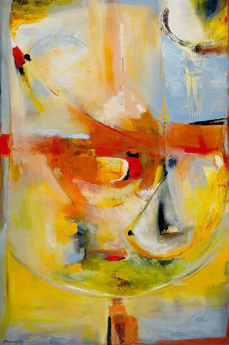 Time by Sargam Griffin - oil on canvas - 72 x 48 | Art Intrigue ...